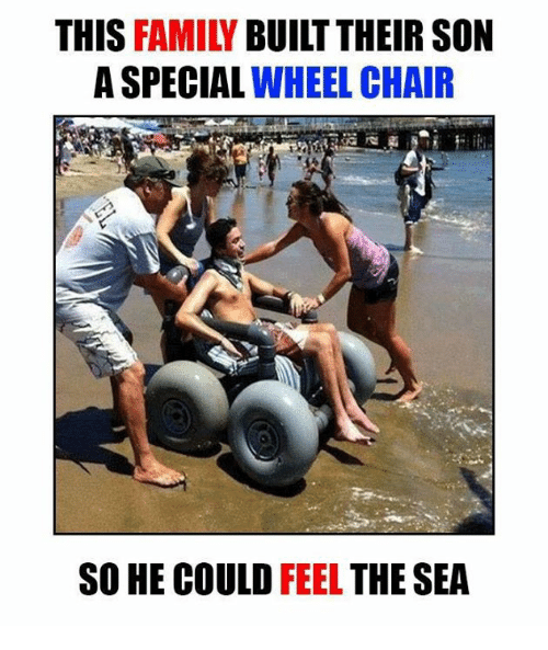 this family built their son a special wheelchair so he 6179816 ✅ 25 best memes about wheelchair wheelchair memes