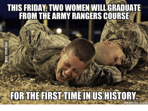 this friday two women willigraduate from the armyrangers course for 17687862 ✅ 25 best memes about combat medic meme combat medic memes
