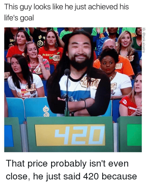 Funny, Otis, and Price: This guy looks like he just achieved his  life's goal  URICF  OTI That price probably isn't even close, he just said 420 because