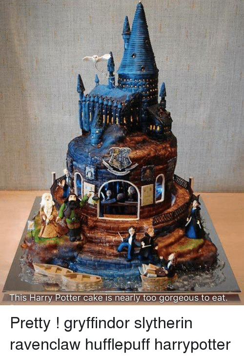 This Harry Potter Cake Is Nearly Too Gorgeous To Eat