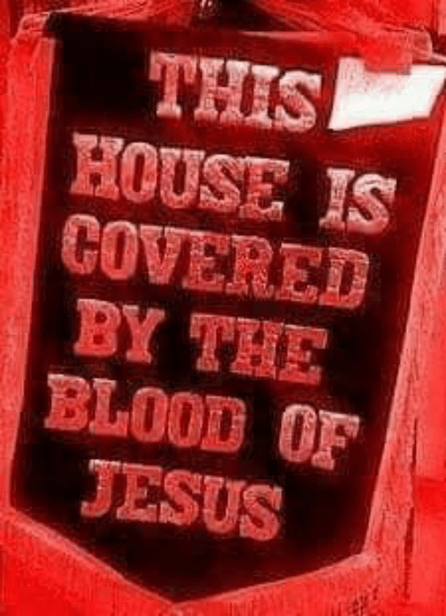 Jesus, Memes, and House: THIS  HOUSE IS  COVERED  BY TRIE  BLOOD OF  JESUS