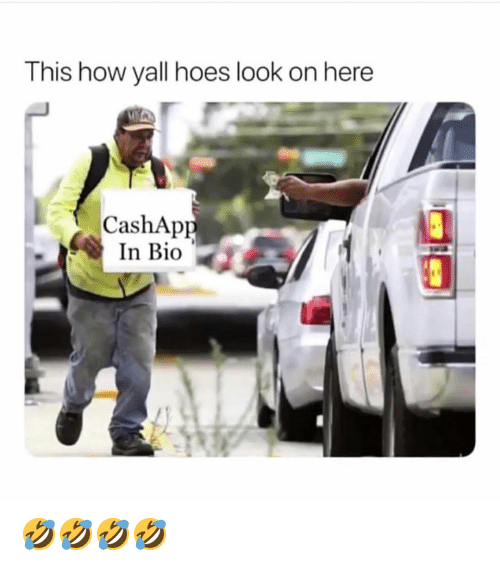 This How Yall Hoes Look on Here CashApp in Bio 🤣🤣🤣🤣 | Hoes Meme
