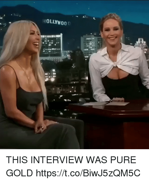 Funny, Gold, and Interview: THIS INTERVIEW WAS PURE GOLD https://t.co/BiwJ5zQM5C
