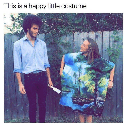 Happy, This, and This Is: This is a happy little costume
