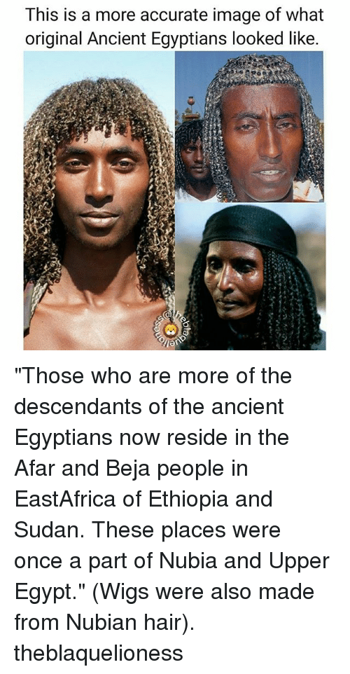 This Is a More Accurate Image of What Original Ancient Egyptians Looked Like Those Who Are More ...
