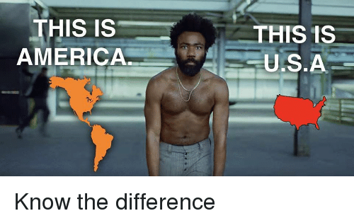 America, This, and This Is: THIS IS  AMERICA  THIS 1S  U.S.A Know the difference