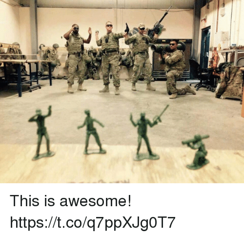 Memes, Awesome, and 🤖: This is awesome! https://t.co/q7ppXJg0T7