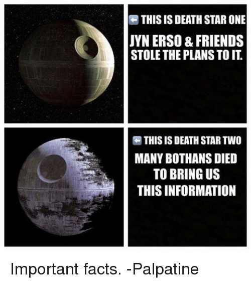 25 best memes about many bothans died many bothans died