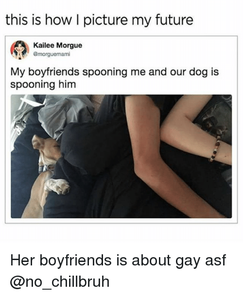 What is gay spooning
