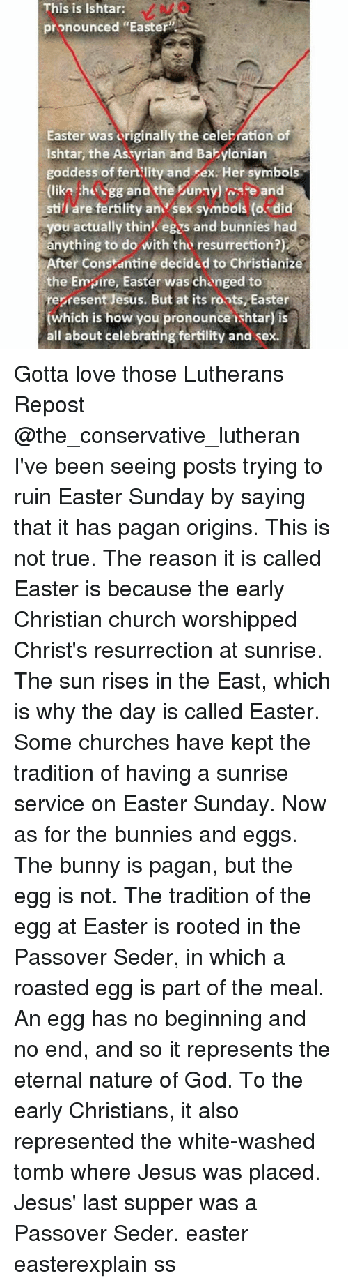 Assyrian and assyrian meme on me bunnies church and easter this is ishtar pronounced easter easter buycottarizona