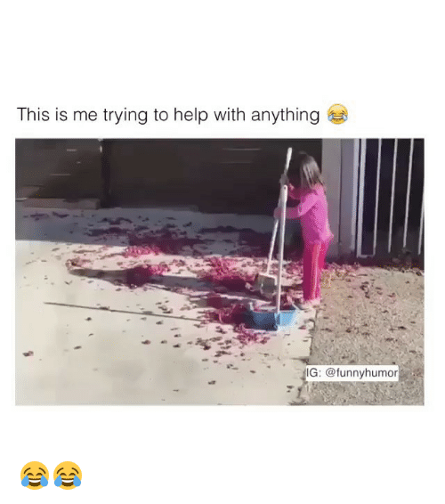 Funny, Help, and Girl Memes: This is me trying to help with anything G: funny humor 😂😂
