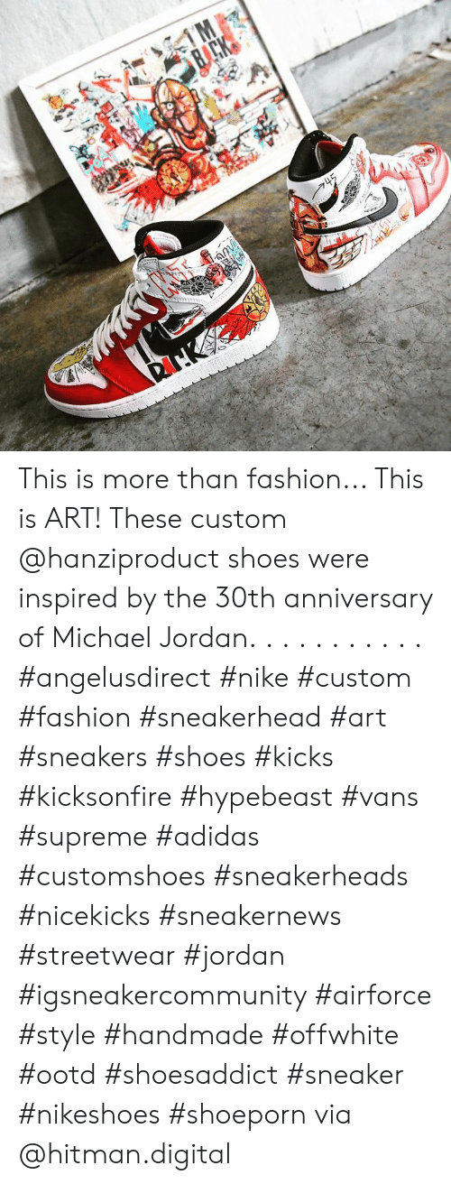 a37fb923eac8c This Is More Than Fashion This Is ART! These Custom Shoes Were ...