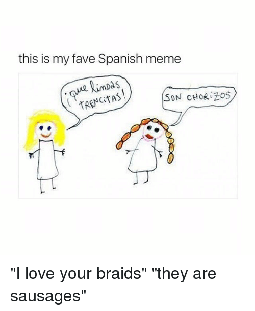 Search i love you in spanish Memes on SIZZLE
