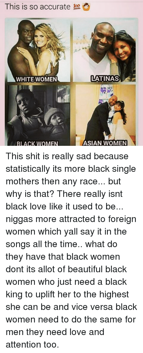 why do i love black women