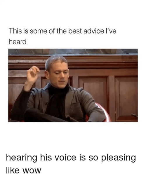 Advice, Wow, and Best: This is some of the best advice l've  heard hearing his voice is so pleasing like wow