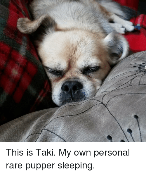 Sleeping, Personal, and Rare