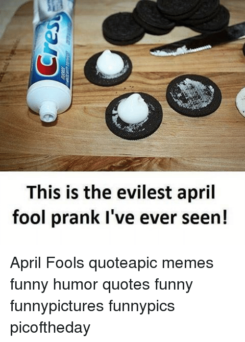 This Is the Evilest April Fool Prank I\'ve Ever Seen! April ...