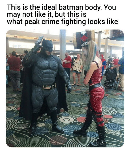 This Is the Ideal Batman Body You May Not Like It but This
