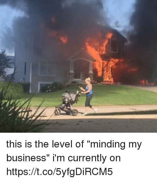 """Business, Girl Memes, and Level: this is the level of """"minding my business"""" i'm currently on https://t.co/5yfgDiRCM5"""
