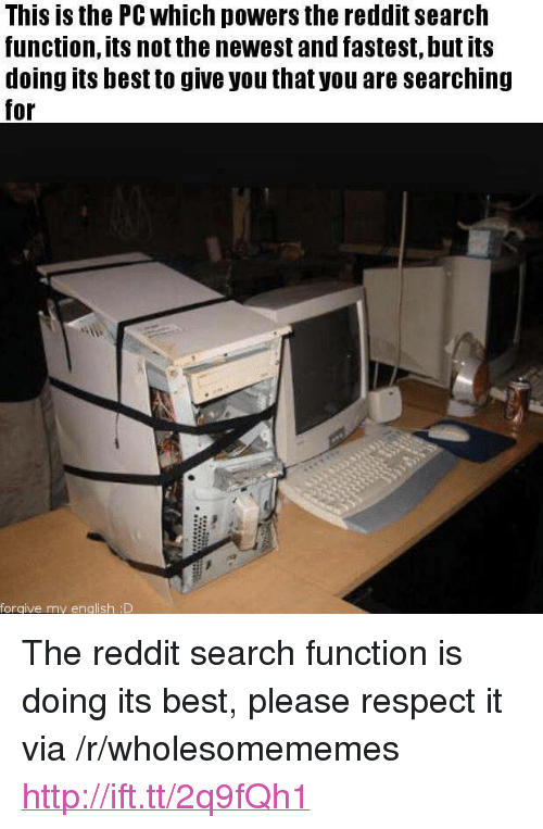 This Is the PC Which Powers the Reddit Search Function Its