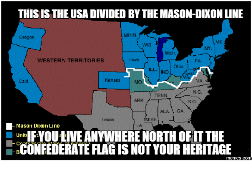 THIS IS THEUSADIVIDED BY THE MASONDIXON LINE MINN Oregon NE NY - Us map mason dixon line