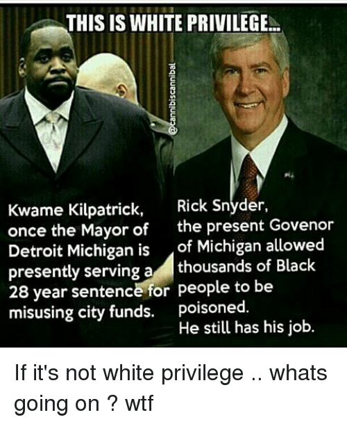 Executive Privilege Sentence Examples: 25+ Best Memes About Kwame Kilpatrick