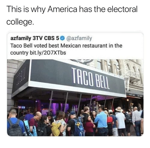Taco Bell Open Christmas.This Is Why America Has The Electoral College Azfamily 3tv