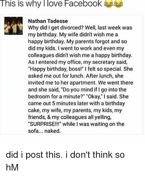 Birthday Facebook And Friends This Is Why I Love Nathan Tadesse
