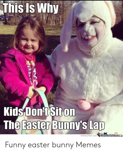 This Is Why Kids Don T Siton Memecenterconm Funny Easter Bunny