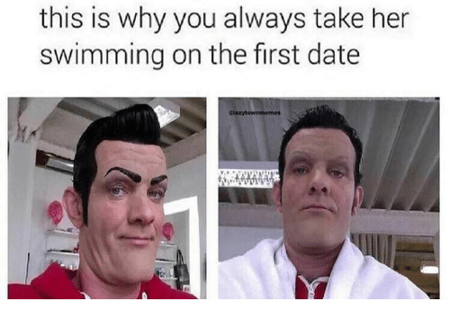 this is why you always take her swimming on the first date