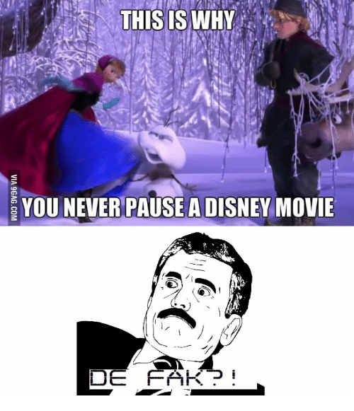 Movie, Never, and Ide: THIS IS WHY  YOU NEVER PAUSEADISNEY MOVIE  IDE  FAKP