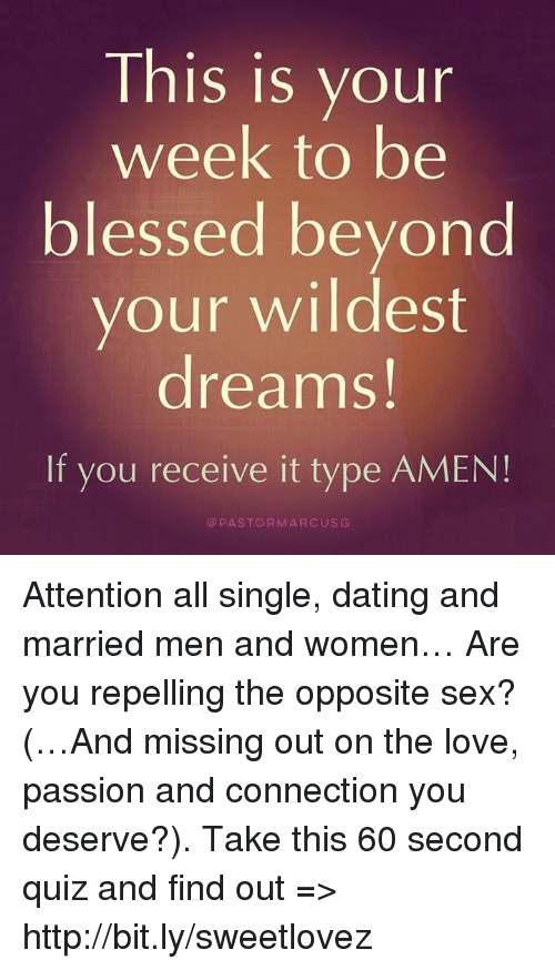 Dream of dating a married man