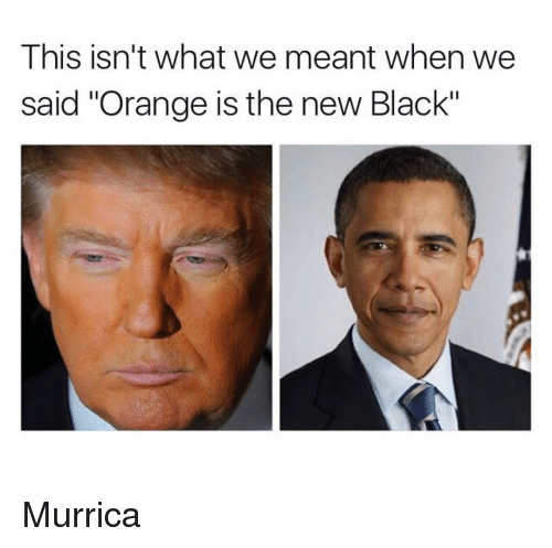 """Orange Is the New Black and Murrica: This isn't what we meant when we  said """"Orange is the new Black"""" Murrica"""