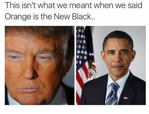 Memes, Black, and Blacked: This isn't what we meant when we said  Orange is the New Black..