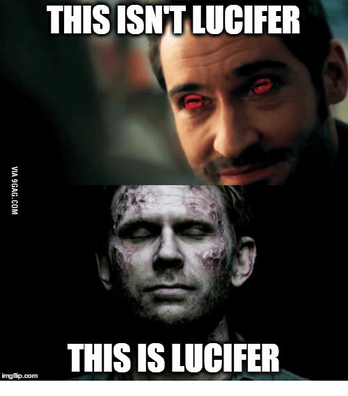 Constantine the Movie: THIS ISNTLUCIFER  THIS IS LUCIFER  imgfip.com
