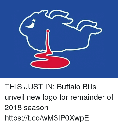 d8cb2dbc THIS JUST IN Buffalo Bills Unveil New Logo for Remainder of 2018 ...