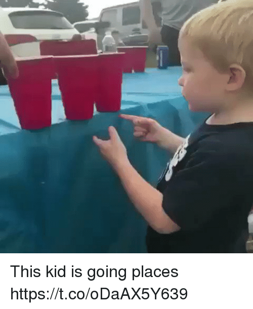 Funny, Kid, and This: This kid is going places https://t.co/oDaAX5Y639