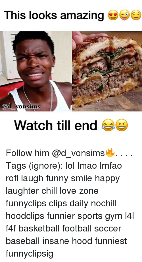 Baseball, Basketball, and Chill: This looks amazing  Cod Vons ims  Watch till end  29 Follow him @d_vonsims🔥. . . . Tags (ignore): lol lmao lmfao rofl laugh funny smile happy laughter chill love zone funnyclips clips daily nochill hoodclips funnier sports gym l4l f4f basketball football soccer baseball insane hood funniest funnyclipsig
