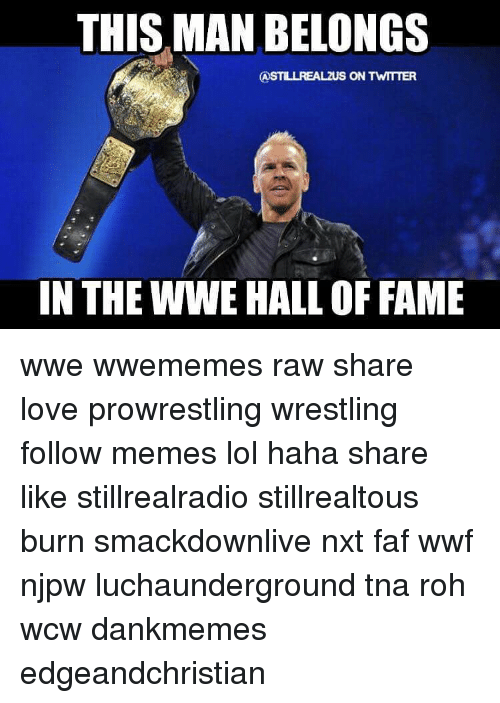 this man belongs castillrealzus on twttter in the wwe hall 12339679 ✅ 25 best memes about wwe hall of fame wwe hall of fame memes