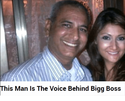 Bigg Boss Funny Meme : This man is the voice behind bigg boss the voice meme on me.me