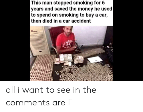 This Man Stopped Smoking for 6 Years and Saved the Money He