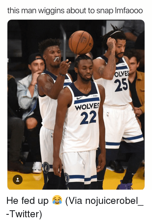 This Man Wiggins About To Snap Imfaooo Olve 25 Fitbit Wolves He Fed