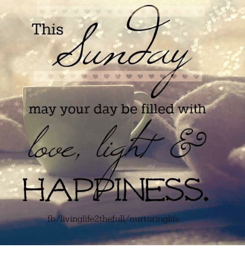 Memes, Happiness, and 🤖: This  may your day be filled with  HAPPINESS  fb livinglife2thefull nurturinglife