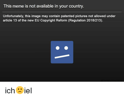 This Meme Is Not Available in Your Country Unfortunately This Image