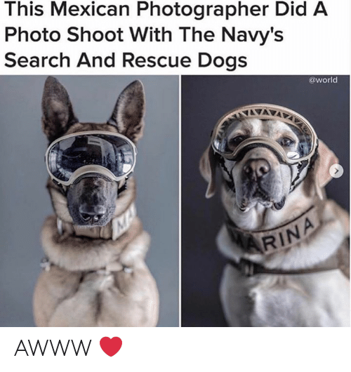 This Mexican Photographer Did a Photo Shoot With the Navy's