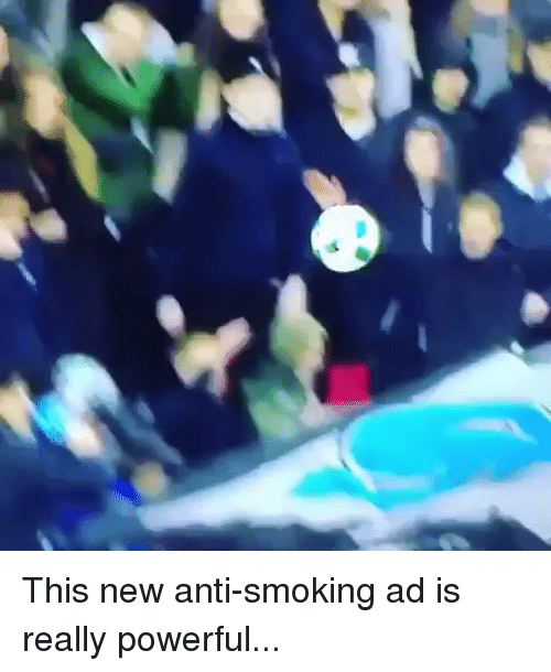 Memes, Smoking, and Powerful: This new anti-smoking ad is really powerful...