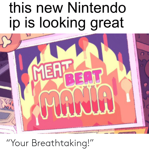 "This New Nintendo Ip Is Looking Great MEAT BEAT ""Your"