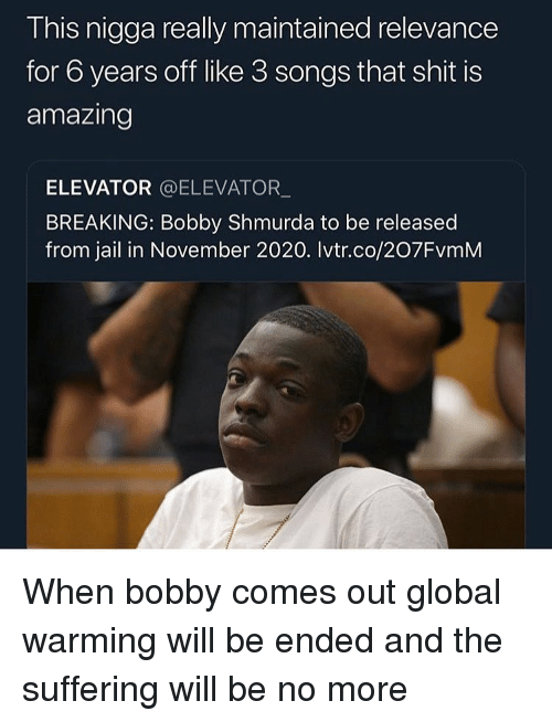 This Nigga Really Maintained Relevance for 6 Years Off Like