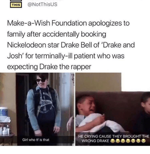 This At Notthisus Make A Wish Foundation Apologizes To Family After