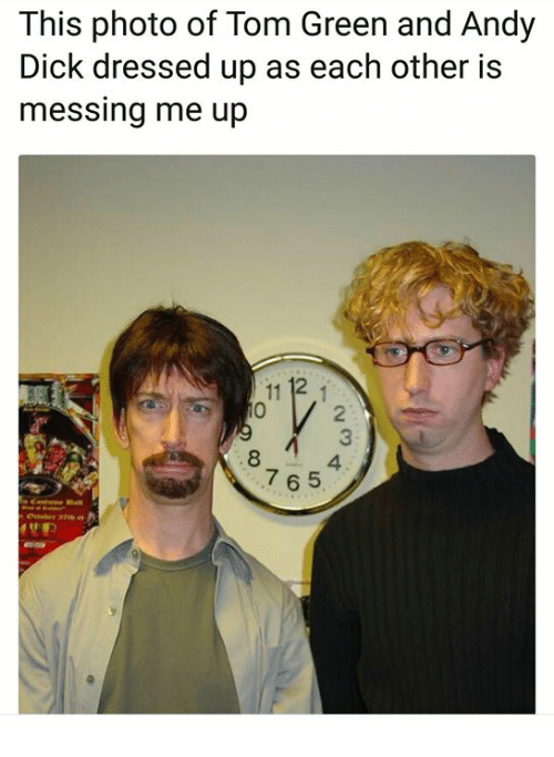 from Austin andy dick as tom green